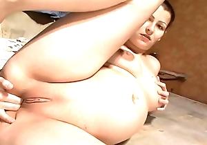 Beautiful Pregnant Girl Masturbating