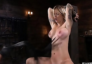 Pretty good pussy zappered and toyed