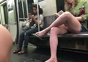 candid tall kermis bitch big white leg and legs