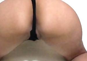 mi culona nalgona en negro