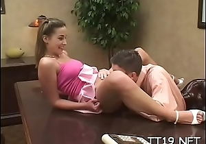 Nice-looking juvenile pamper widens wide for her teacher'_s learn of