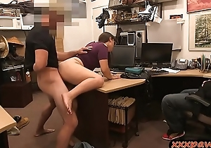 Couple sluts fucked overwrought horny pawn guy