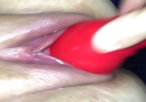 Homemade pussy marvellous with an increment of Squirting spunk fountain