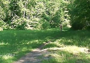 Laufen am FKK