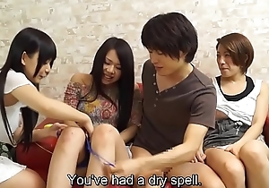 JAV having sex while my collaborate watches begins Subtitled