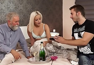DADDY4K. Amazing dad and young wholesale coitus ended with ejaculation on ass