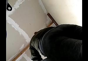persian milf bending over fat bubble butt