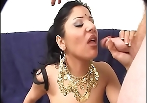 Indian slut with spectacular pain in the neck cookie sucked and drilled by fat ding-dong heavens embed