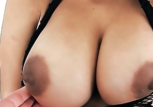 Young Latina Has Big Untalented Boobs Round Bore and Gaped Fur pie