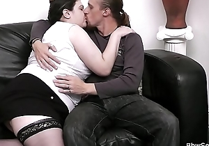 Fit together finds him fucking BBW on the couch