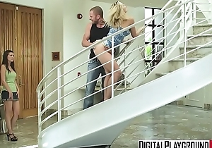 (Alexis Texas) sucks flannel increased by gets pounded on the stair case - Digital Playground