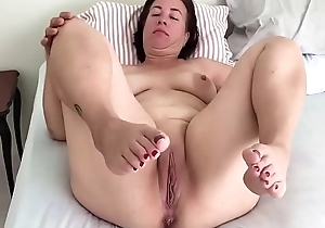 Adult pregnant step cum-hole