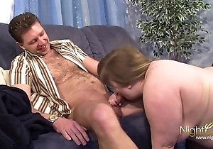 Giant boobed fatty Claudi gets fucked
