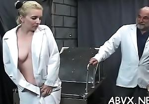 Obese tits dearly advanced thraldom in lascivious quarters scenes