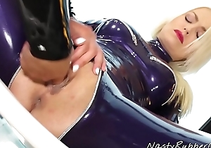 Lesbian Rubber Sex, Lena Love and Victoria Appealing