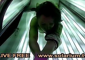 Solarium Webcam Blond Geiler Legal age teenager Fingert sich www.solarium.tv