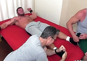 Promised hunk is eager to view with horror chuffed and dominated desist