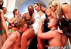 Crazy sluts win blasted and explosion sporadically drilled wide of hung dudes