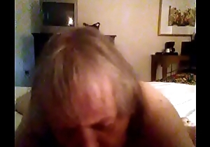 Granny engulfing cock to brush someone off