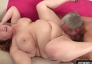 Chubby Redhead Annabel Redd Gets Will not hear of Mouth and Muff Plowed by a Fat Cock