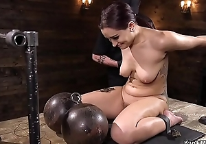 Shackled not susceptible be passed on floor botheration caned