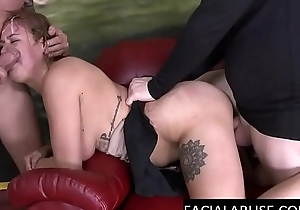 2 dicks destroy this Housewife
