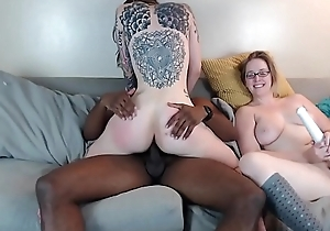 Cam Session 17-10-01 Cum in Brashness Threesome Pt I