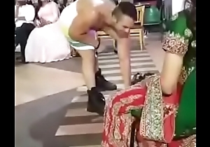 Bride gets a surprise gift