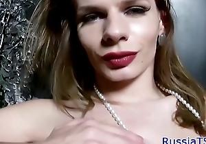 Bigtit russian shelady masturbating more than dramatize expunge day-bed