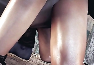 jill valentine drilled by a outstanding monster